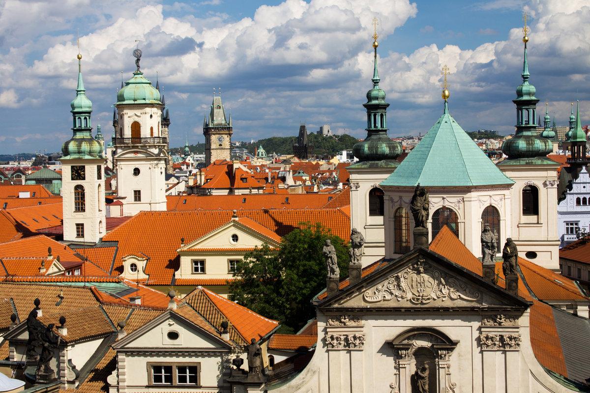 Fint väder i Prag (Foto: praguewelcome.cz)