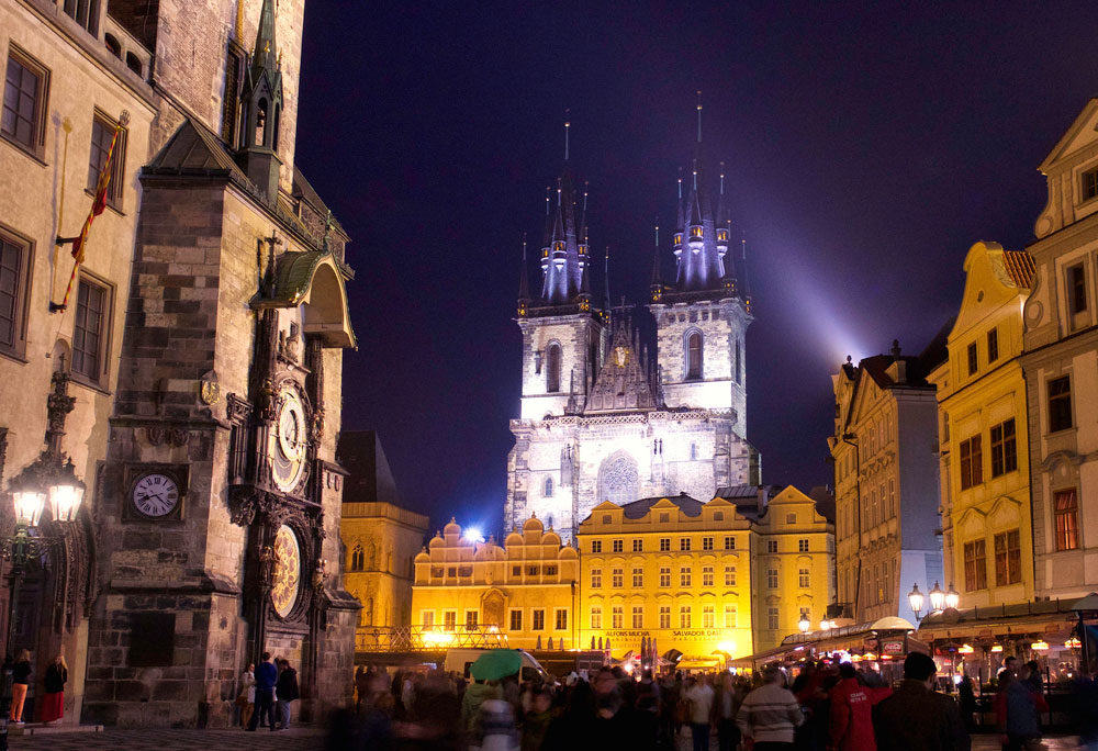 Týnkyrkan i Prag (Foto: Flickr/opusbloo)