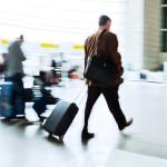 Saknad rulltrappa ställer till det för flygresenärer