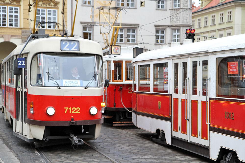 Kollektivtrafik i Prag Spårvagn 22 (Foto: Prag.se)