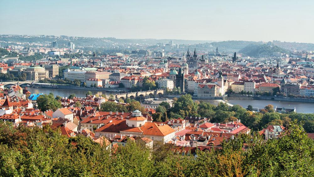 Petrinkullen i Prag