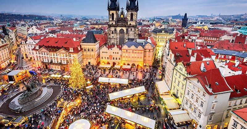 Julmarknader i Prag-800p